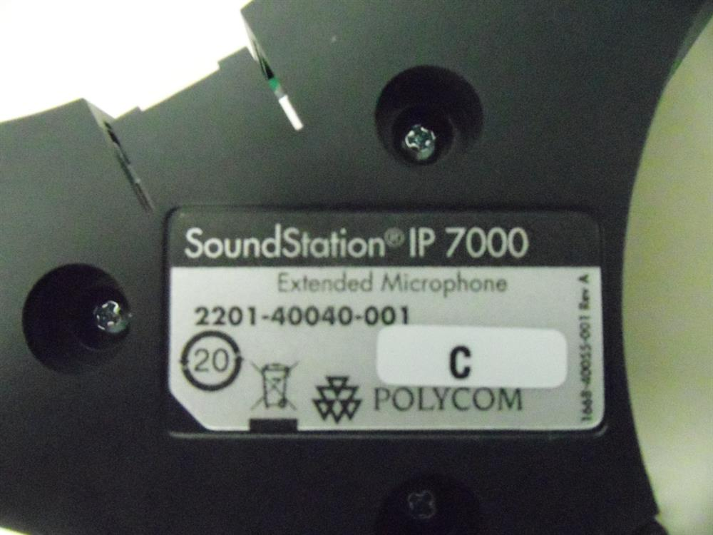 Polycom SoundStation IP7000 2201-40040-001 Single Expansion Microphone image