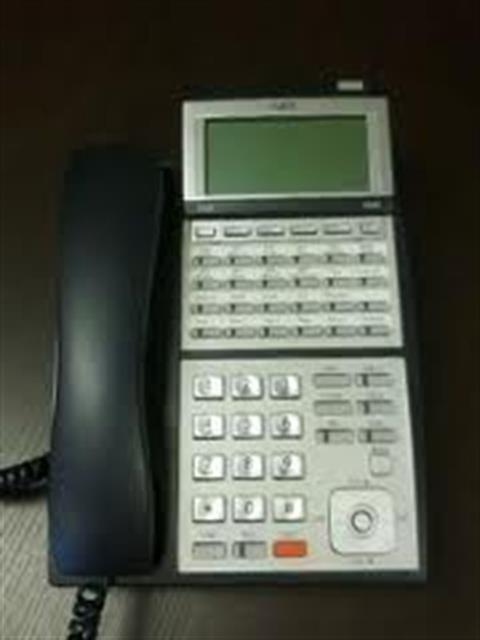 NEC Univerge UX5000  IP3NA-24TXH 0910048 DG-24e 24 Button Digital Telephone with Speakerphone and Display image