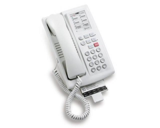 B-Stock Avaya Euro Series 1 Partner 6 107854796 White 6 Button Digital Telephone with Speakerphone (Has Cosmetic Defects) image