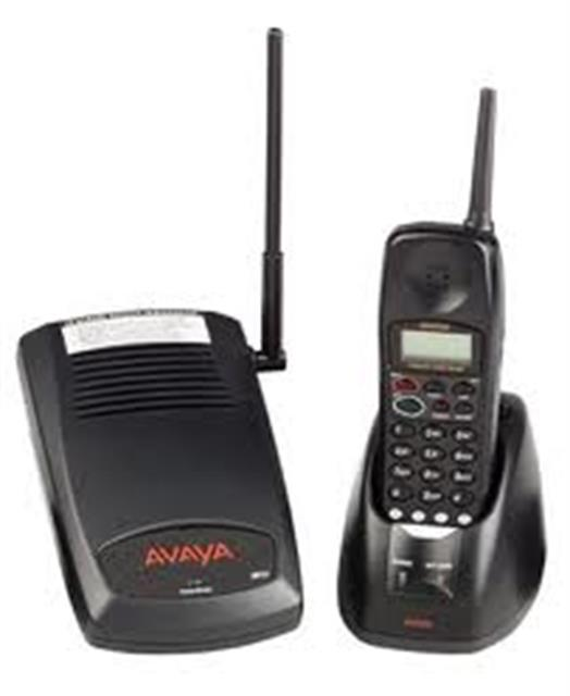 Avaya 3810 700305105 4 Button 900Mhz Digital Cordless Telephone for Merlin Magix and IP Office Systems image