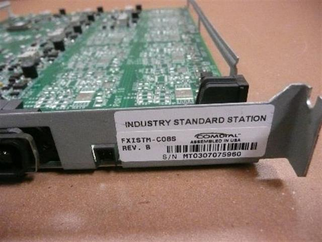 Comdal FXISTM-C08S 8 Port Single Line Station Card with Caller ID Support image