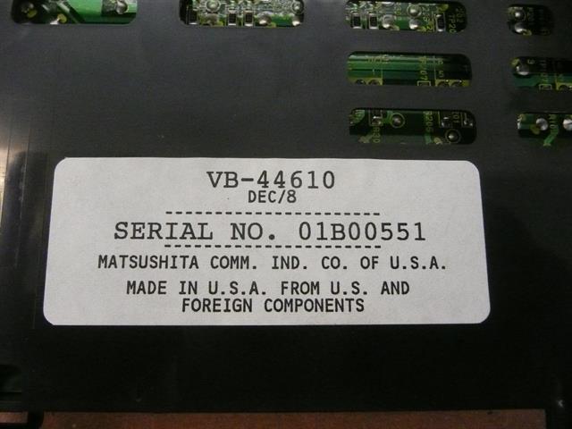 VB-44610 Panasonic image