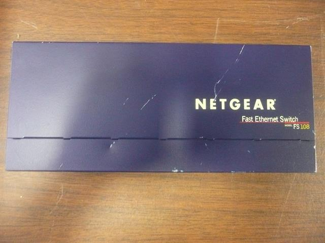 Netgear FS108 Unmanaged Switch image