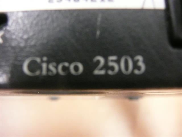 Cisco 2503 Router image