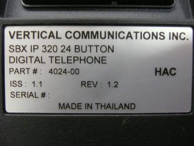 4024-00 Vertical Communications image