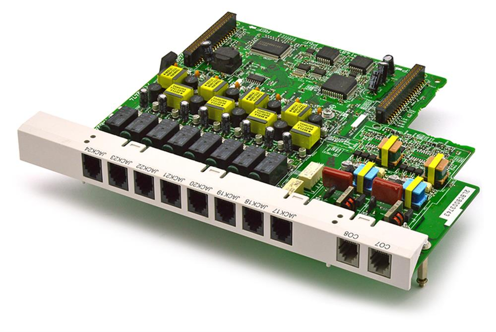 Panasonic KX-TA82481 2 Line by 8 Station Circuit Card image
