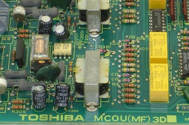 Toshiba MCOU-MF3D Circuit Card image