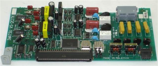 Iwatsu Adix-VS 057005 VS-2CITK 2 Port Analog Trunk Circuit Card image