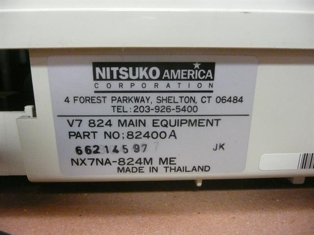 Nitsuko NX7NA-824 KSU image