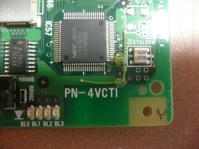 NEC PN-4VCT1 Circuit Card image