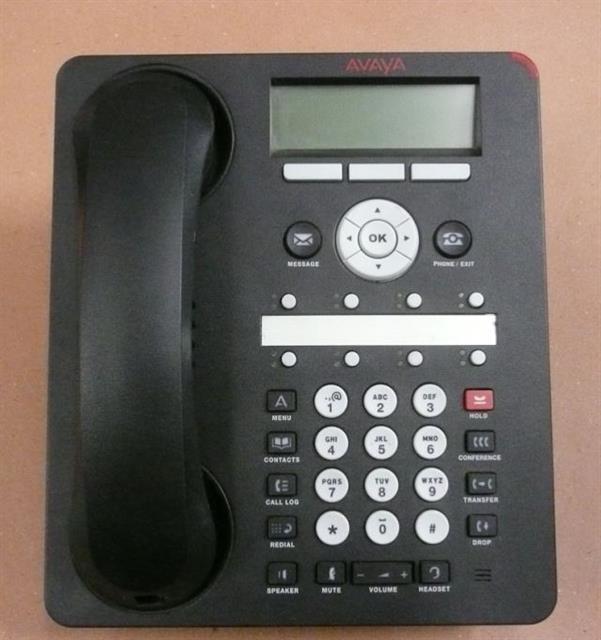Avaya 1608-I 700458532 8 Button VoIP Phone  image