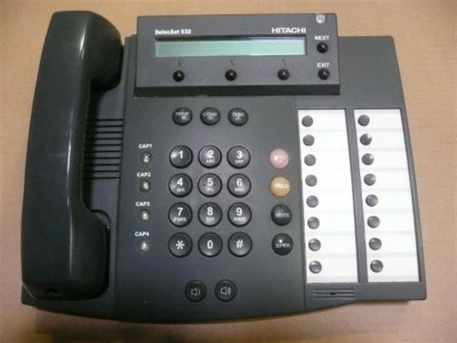 Hitachi SelecSet SS930 Digital Telephone image