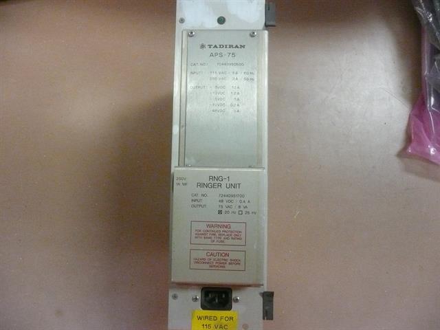 Tadiran Coral 1 APS-75 w/ Ringing Unit Power Supply image