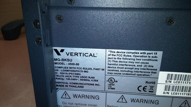 BKSU / 4500-00 Vertical Communications image