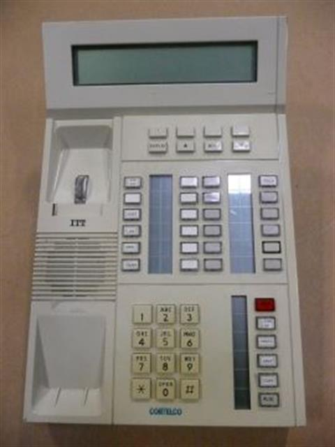 ITT Cortelco eOn 913075-MOE-20E White Large Display Phone image