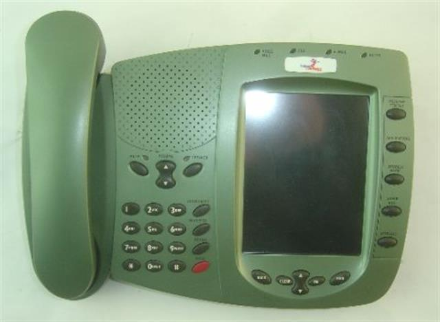 Telrad iPicasso 76-500-5050 Green Color Touchscreen VoIP Telephone image