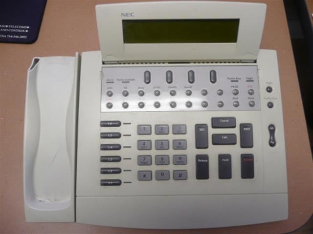 NEC SN716 Desk Con A-C / 201448 (B-Stock) Attendant Console image