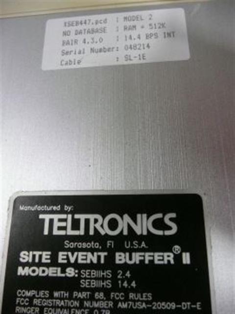 Teltronics Crytycal(i) SEBII HS System image