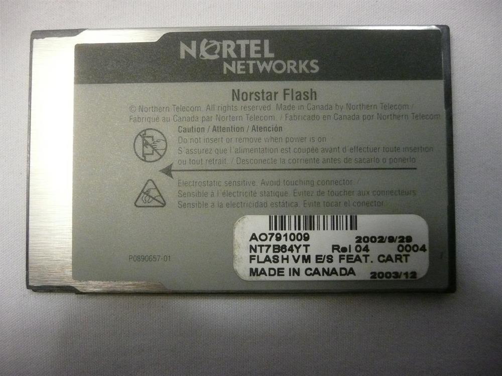 Nortel-Norstar NT7B64YT  Software image