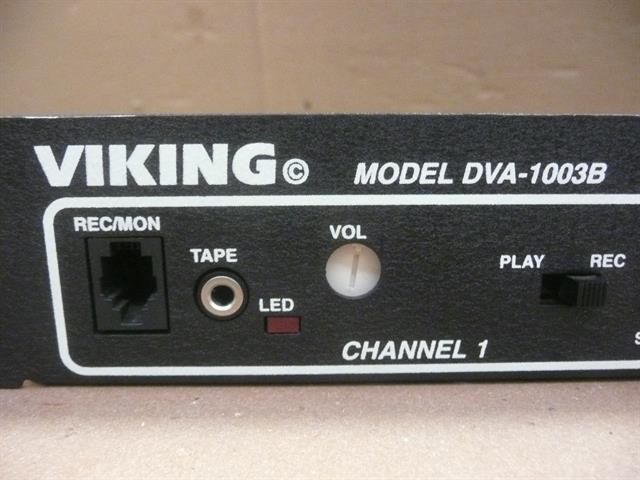 Viking 259322B Call Announcer/ Recorder image