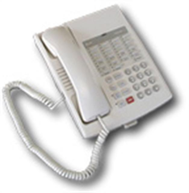 B-Stock Avaya Euro Series 1 Partner 18 White 16 Button Digital Telephone with Speakerphone (Has Cosmetic Blemishes) image