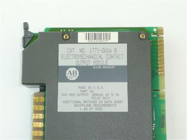 Allen Bradley 1771-OW16/B Circuit Card image
