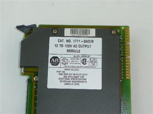 Allen Bradley 1771-OAD/B Circuit Card image
