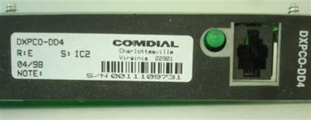 DXPCO-DD4 Comdial image