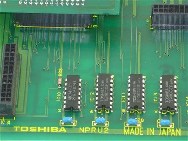 Toshiba NPRU2 Circuit Card image