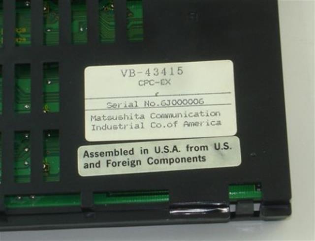 VB-43415 Panasonic image