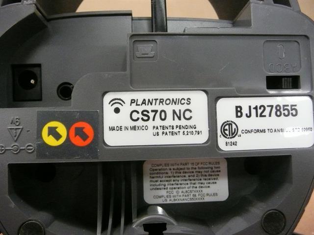 Plantronics CS70 NC System image