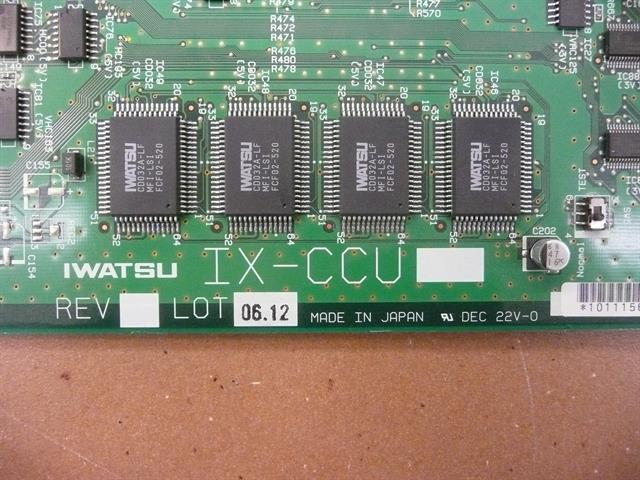Iwatsu ECS IX-CCU 101115 Central Control Unit Card image