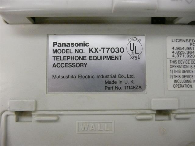 KX-T7030 Panasonic image