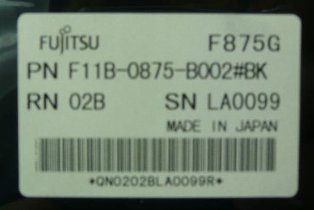 F11B-0875-B002 #BK Fujitsu image
