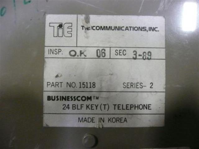Tie BusinessCom 15118 18 Button Electronic Telephone image