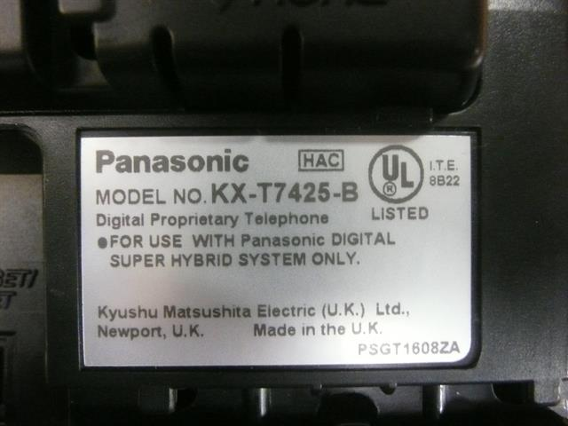 KX-T7425B Panasonic image