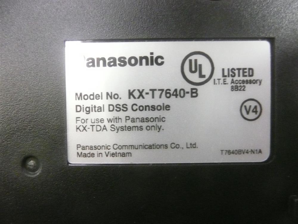 KX-T7640B Panasonic image
