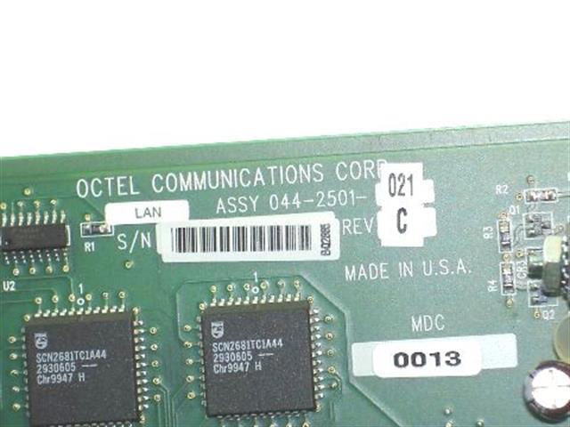044-2501-021 / LAN Octel image
