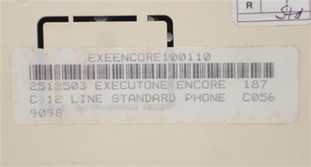 2512503 (B Stock) Executone- Isoetec image