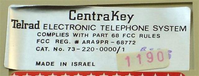 73-220-0000 Telrad image