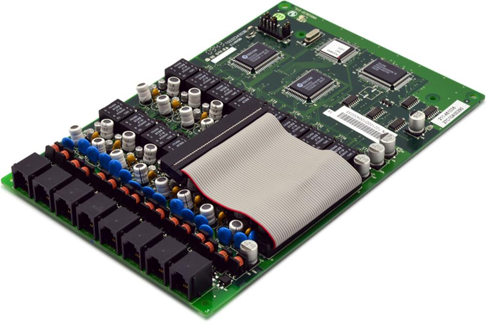 Vertical Communications Comdial DX-120 DPM16 7221-00 16 Port Digital Station Circuit Card image