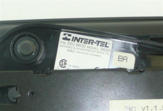 550.8600 Inter-Tel image