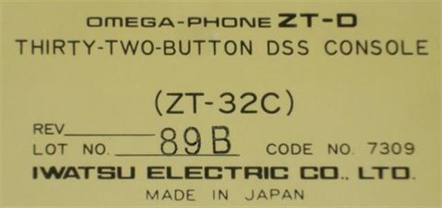 ZT-32C - 7309 Iwatsu image