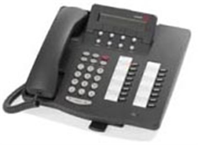 Avaya 6416D+M 108807611 Grey 16 Button Digital Telephone with Display image