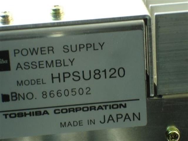 HPSU8120 Toshiba image