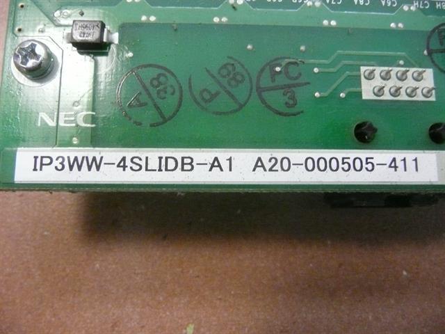 IP3WW-4SLIDB-A1 / 0911042 NEC image