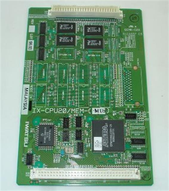 Iwatsu IX-CPU20/MEM-M (B1) 101095 v6.30 Software Card image