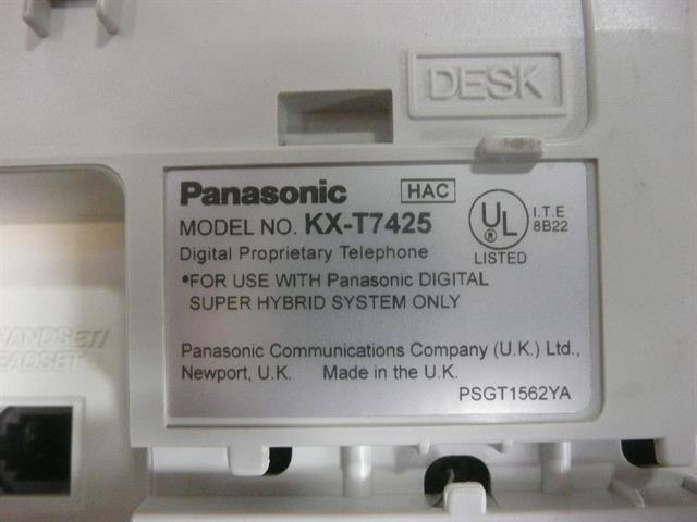 KX-T7425 Panasonic image