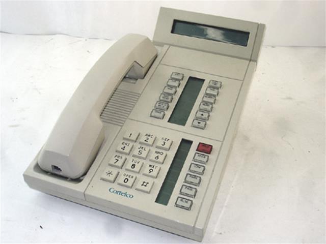 911875-M0E-20E White Small Display / (B-Stock) ITT Cortelco eOn image