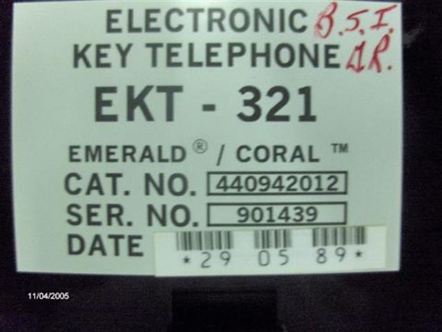 EKT321B - 440944412 - Black Tadiran image